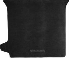 Коврик в багажник для Nissan Pathfinder '10-14, текстильный черный