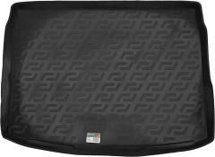 Коврик в багажник для Nissan Qashqai '14-17, резино/пластиковый (Lada Locker)