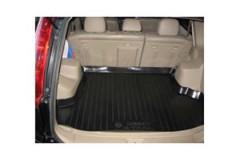 Коврик в багажник для Nissan X-Trail '01-07, резино/пластиковый (Lada Locker)
