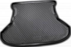Коврик в багажник для Lada (Ваз) Priora 2172 '07- хетчбэк, полиуретановый (Novline / Element) черный