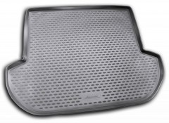 Коврик в багажник для Subaru Outback '09-14, полиуретановый (Novline) черный