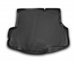 Коврик в багажник для Ford Fiesta '15-17, седан, полиуретановый (Novline / Element)