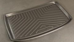 Коврик в багажник для Peugeot 206 '98-09 хетчбэк, полиуретановый (NorPlast) черный
