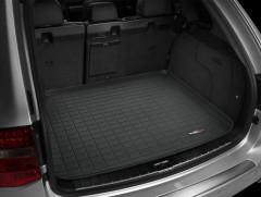 Коврик в багажник для Volkswagen Touareg '02-09, резиновый (WeatherTech) черный