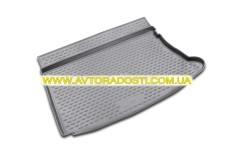 Коврик в багажник для Hyundai i30 FD '07-12 хетчбэк, полиуретановый (Novline / Element) серый