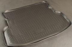 Коврик в багажник для Geely MK Sedan '06-14, полиуретановый (NorPlast) черный