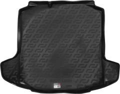 Коврик в багажник для Skoda Rapid '13-, резино/пластиковый (Lada Locker)