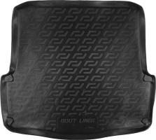 Коврик в багажник для Skoda Octavia A5 '05-13 универсал, резино/пластиковый (Lada Locker)
