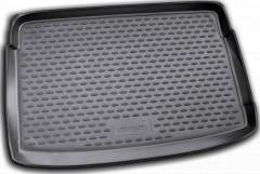 Коврик в багажник для Volkswagen Polo '09-17 хетчбэк, верхний, полиуретановый (Novline / Element) черный