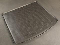 Коврик в багажник для BMW 5 E61 '03-10 универсал, полиуретановый (NorPlast) черный