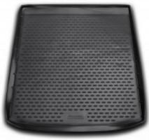 Коврик в багажник для BMW X6 E71 '08-14, полиуретановый, с адаптивной крепёжной системой груза (Novline / Element) черный