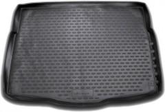 Коврик в багажник для Hyundai i30 GD '13-16 хетчбэк, полиуретановый (Novline) черный