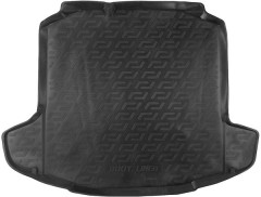 Коврик в багажник для Skoda Rapid '13-, резиновый (Lada Locker)