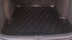 Коврик в багажник для Skoda Octavia A5 '05-13 универсал, резиновый (Lada Locker)