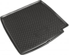 Коврик в багажник для BMW 7 F01 '08-15, полиуретановый (NorPlast) черный