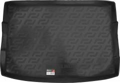 Коврик в багажник для Volkswagen Golf VII '12- хетчбек, резино/пластиковый (Lada Locker)