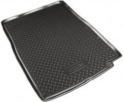 Коврик в багажник для BMW 7 F02 '08-15 Long, полиуретановый (NorPlast) черный