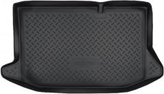 Коврик в багажник для Ford Fiesta '09-14, полиуретановый (NorPlast) черный