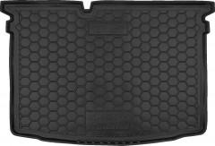 Коврик в багажник для Skoda Fabia III '15-, хетчбек, резиновый (AVTO-Gumm)