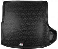 Коврик в багажник для Volkswagen Golf VI '09-12 универсал, резиновый (Lada Locker)