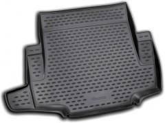 Коврик в багажник для BMW 1 E87 '04-12, полиуретановый (Novline / Element) черный