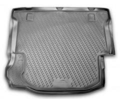 Коврик в багажник для Jeep Wrangler '07- 4D, полиуретановый (Novline)