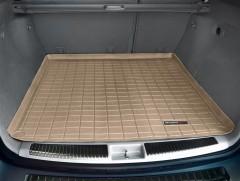 Коврик в багажник для Mercedes ML-Class W164 '05-11, резиновый (WeatherTech) бежевый