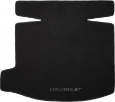 Коврик в багажник для Chevrolet Malibu '12-, текстильный черный