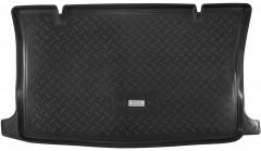 Коврик в багажник для Chevrolet Aveo '08-11 (ЗАЗ Вида) хетчбэк, резино/пластиковый (Norplast)