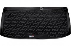 Коврик в багажник для Hyundai i-20 '08-14, резиновый (Lada Locker)
