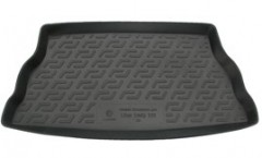 Коврик в багажник для Lifan 320 '11-, резино/пластиковый (Lada Locker)