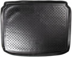 Коврик в багажник для Peugeot 307 '01-07 хетчбэк, полиуретановый (NorPlast) черный