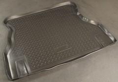 Коврик в багажник для Daewoo Nexia '95-05, полиуретановый (NorPlast) черный