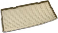 Коврик в багажник для Suzuki Grand Vitara '06- (3 двери), полиуретановый (Novline / Element) бежевый