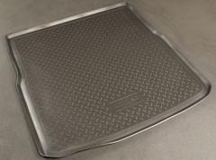 Коврик в багажник для Ford S-Max '06-, полиуретановый (NorPlast) черный