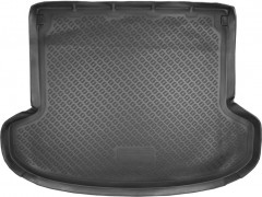 Коврик в багажник для Kia Ceed '06-12 универсал, полиуретановый (NorPlast) черный