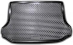 Коврик в багажник для Toyota RAV4 '10-12, полиуретановый (Novline / Element) черный