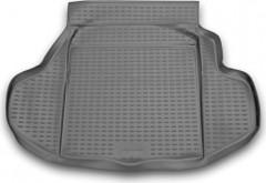 Коврик в багажник для Honda Legend '04-13, полиуретановый (Novline / Element) серый