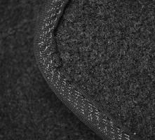 Фото 2 - Коврик в багажник для Nissan Tiida '05-14 седан, текстильный черный