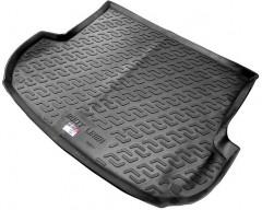 Коврик в багажник для Hyundai Santa Fe '10-12 CM (5 мест), резиновый (Lada Locker)