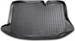 Коврик в багажник для Ford Fiesta '09-14, полиуретановый (Novline / Element) черный, NLC.16.23.B11