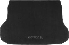 Коврик в багажник для Nissan X-Trail (T32) '14-, текстильный черный