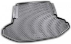 Коврик в багажник для Subaru Legacy '10-14, полиуретановый (Novline / Element) черный