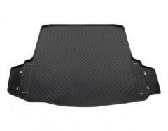 Коврик в багажник для Skoda Octavia A5 '08-13 универсал, полиуретановый (NorPlast) черный