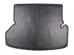 Коврик в багажник для Toyota Highlander '10-13, длинный, полиуретановый (NorPlast) черный