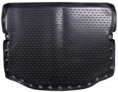 Коврик в багажник для Toyota RAV4 '13-, с полноразмерным запасным колесом, полиуретановый (Novline / Element) черный