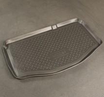 Коврик в багажник для Suzuki Swift '05-09 (нижний), полиуретановый (NorPlast) черный