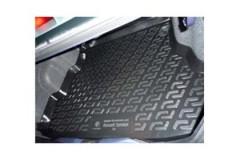 Коврик в багажник для Renault Symbol '01-08 седан, резино/пластиковый (Lada Locker)