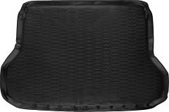 Коврик в багажник для Nissan X-Trail (T32) '14-16, полиуретановый черный (Novline / Element) 999TLT32BL