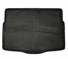Коврик в багажник для Hyundai i30 GD '13-16 хетчбэк, полиуретановый (NorPlast) черный